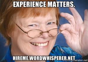 meme Experience Matters