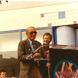 DeForest Kelley Star Ceremony